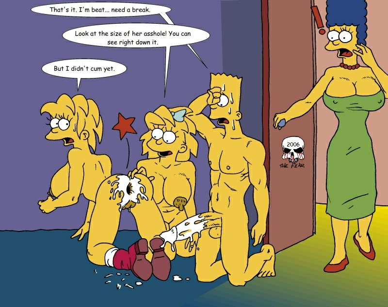 the the simpsons multiverse into Amazing world of gumball nude