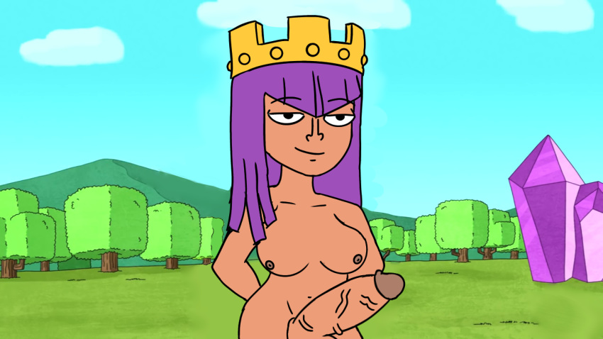 naked clans clash of queen archer Summer nude rick and morty